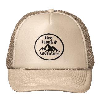 NA- Live Laugh & Adventure Trucker Hat