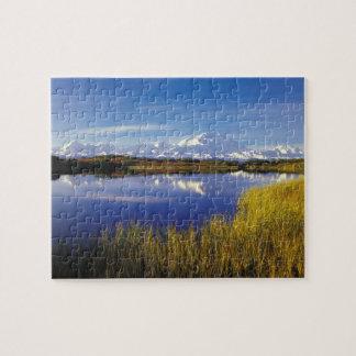 NA, USA, Alaska, Denali NP Mt. McKinley in Jigsaw Puzzle