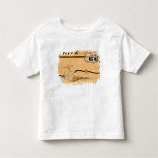 NA, USA, Arizona, Holbrook Route 66 road mural Toddler T-shirt