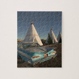 NA, USA, Arizona, Holbrook Route 66, Wigwam Puzzle