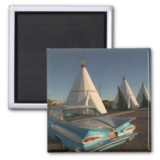 NA, USA, Arizona, Holbrook Route 66, Wigwam Square Magnet