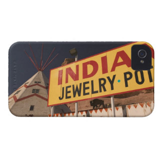 NA, USA, Arizona, Lupton Yellowhorse Indian iPhone 4 Case-Mate Case