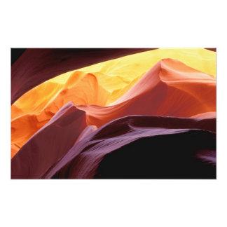 NA, USA, Arizona, Paria canyon. Sandstone Photographic Print
