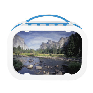 NA, USA, California, Yosemite NP, Valley view Lunch Boxes