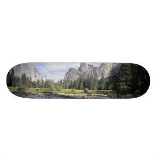 NA, USA, California, Yosemite NP, Valley view Skate Deck