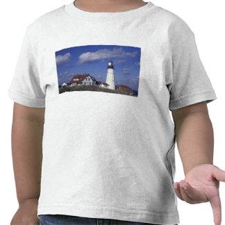 NA, USA, Maine, near Portland, Portland Head T-shirt