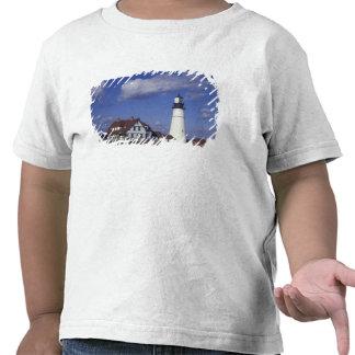 NA, USA, Maine, near Portland, Portland Head Shirt