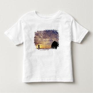 NA, USA, Oregon, Oregon Coast, Canon Beach with Toddler T-shirt