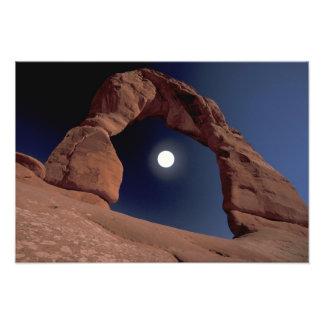 NA, USA, Utah, Arches National Park. Delicate Art Photo