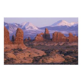 NA, USA, Utah, Arches National Park. Garden of Photograph