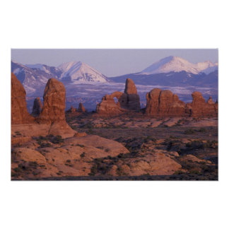 NA, USA, Utah, Arches National Park. Garden of Poster