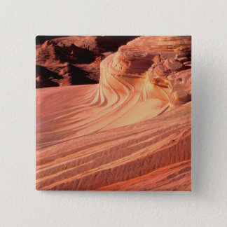 NA, USA, Utah, Vermillion Cliffs. Coyote Butte 2 Inch Square Button