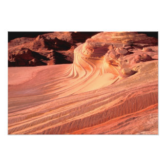 NA, USA, Utah, Vermillion Cliffs. Coyote Butte Photo Print