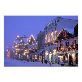 NA, USA, Washington, Leavenworth. Main Street Photo Art