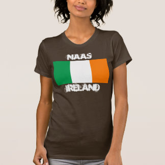 Naas, Ireland with Irish flag T-Shirt