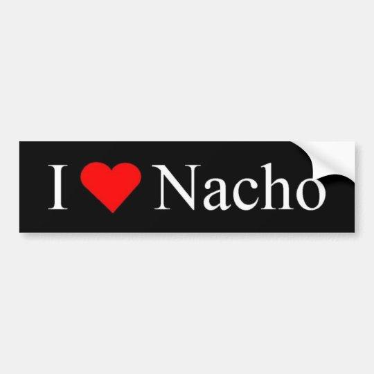 Nacho Bumper Sticker