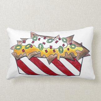 Nacho Man Cheese Nachos Funny Foodie Pillow