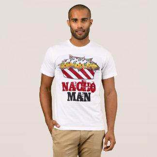 NACHO MAN Cheese Nachos Funny Foodie Tee