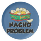 Nacho Problem - Funny Word Play Plate