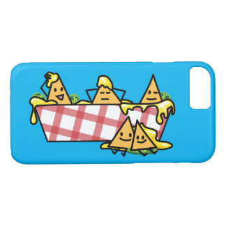 Nachos Melted Cheese Jalapeno Nacho tortilla chips iPhone 8/7 Case