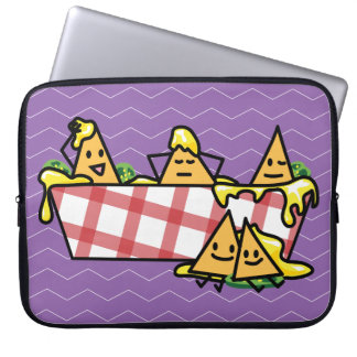 Nachos Melted Cheese Jalapeno Nacho tortilla chips Laptop Sleeve