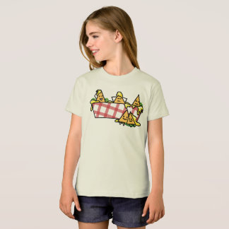 Nachos Melted Cheese Jalapeno Nacho tortilla chips T-Shirt