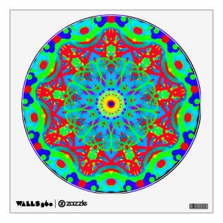 Nada Circle Colorful Mandala Design Wall Decal