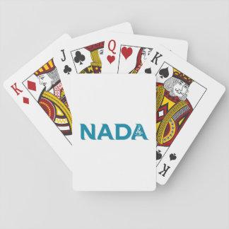 NADADANCE TEAL FULL LOGO PLAYING CARDS