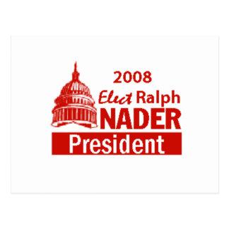 NADER 2008 Postcard