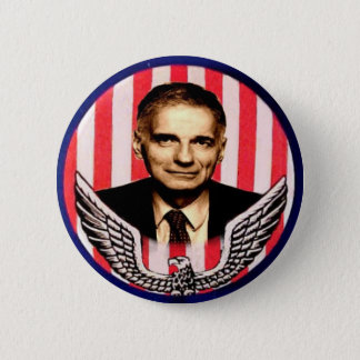 Nader eagle button