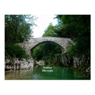 Nadiza Slovenia, Nadiza River Postcard