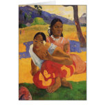 'Nafea Faa Ipoipo' - Paul Gauguin