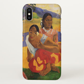 'Nafea Faa Ipoipo' - Paul Gauguin iPhone X Case