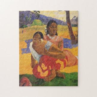 'Nafea Faa Ipoipo' - Paul Gauguin Jigsaw Puzzle