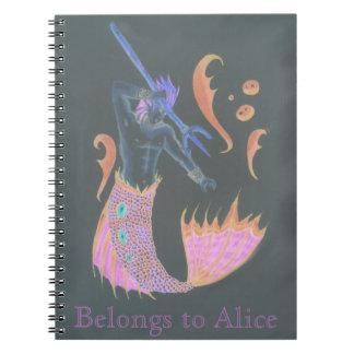 Naga Mer Steve Notebook