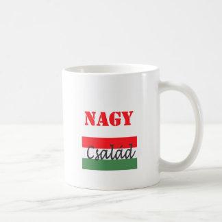 Nagy csalad coffee mug