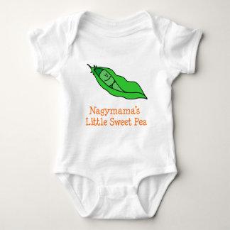 Nagymama Little Sweet Pea Baby Bodysuit