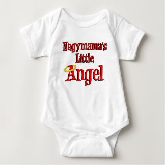 Nagymama's Little Angel Baby Bodysuit