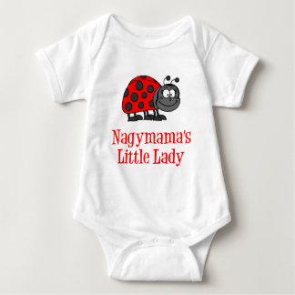 Nagymama's Little Lady Baby Bodysuit