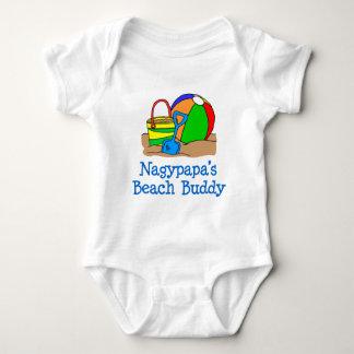 Nagypapa Beach Buddy Baby Bodysuit