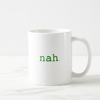 Nah. Yellow Green Pink Coffee Mug