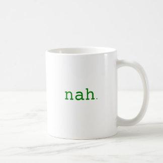 Nah. Yellow Green Pink Coffee Mug