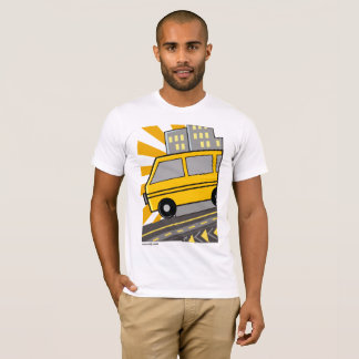 Naija Danfo Abstract T-Shirt