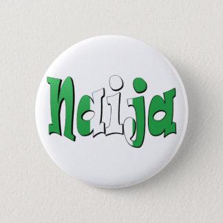 Naija (Nigerian Flag) 2 Inch Round Button