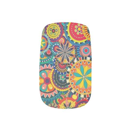 Nail Art Beautiful, Colourful, Original