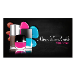Nail Artist/Nail Polish Pack Of Standard Business Cards