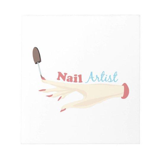 Nail Artist Notepad