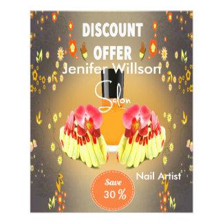 Nail Artist Salon Flyers