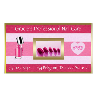 Nail Care Business Card