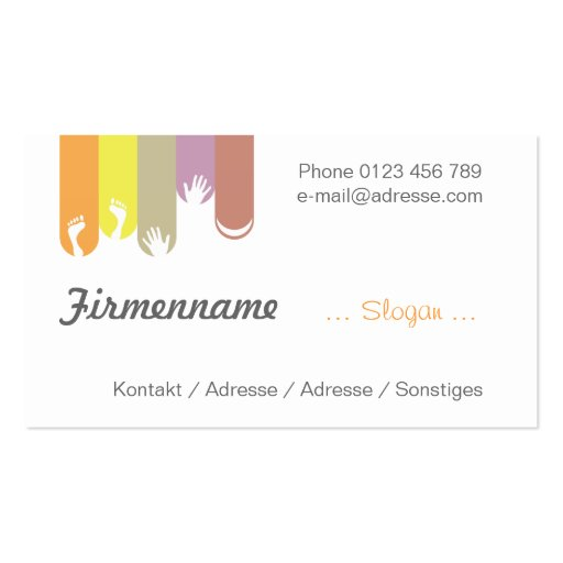 Nail Design - nail care Business Cards